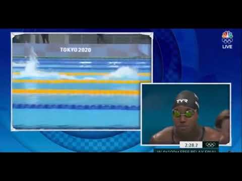 Australia Womens World Record 4 x100 freestyle Relay Tokyo Olympics