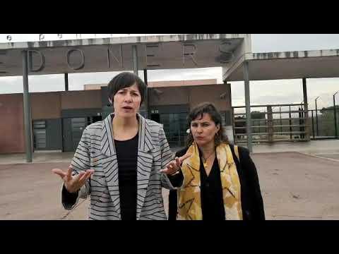 Ana Pontón e Ana Miranda piden en Lledoners a liberda d@s pres@s políticos cataláns