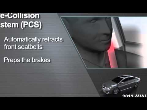 Watch Avalon How To Pre Collision System PCS 2013 Avalon Toyota XCranw2MNMo