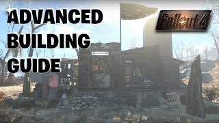 Fallout 4 -  Advanced Building Tips | Aesthetics & Detailing