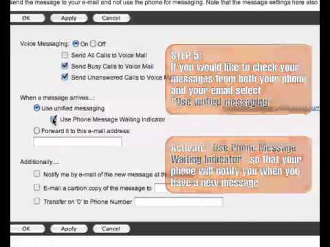 how to send voicemail to email