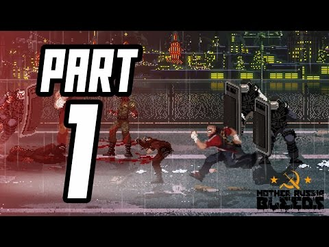 ► Mother Russia Bleeds w/ GROWEY | #1 | CZ Lets Play / Gameplay [1080p] [PC]