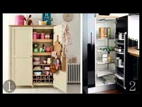 Kitchen Larder Cupboard - YouTube