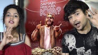 EMIWAY-SAMAJH MEIN AAYA KYA? (OFFICIAL MUSIC VIDEO) | Reaction | Pooja Rathi | Shubham Vyas
