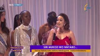 EBYOOKYA: Kabuze Kata Zari yeekube ne Fabiola mu mpaka za Miss Uganda