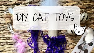 4 DIY Cat Toys | Nikki Stixx