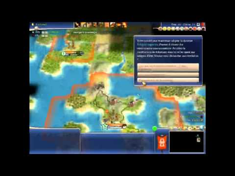 Serie de Civilization IV Beyond the Sword avec les Carthaginois Episode 1