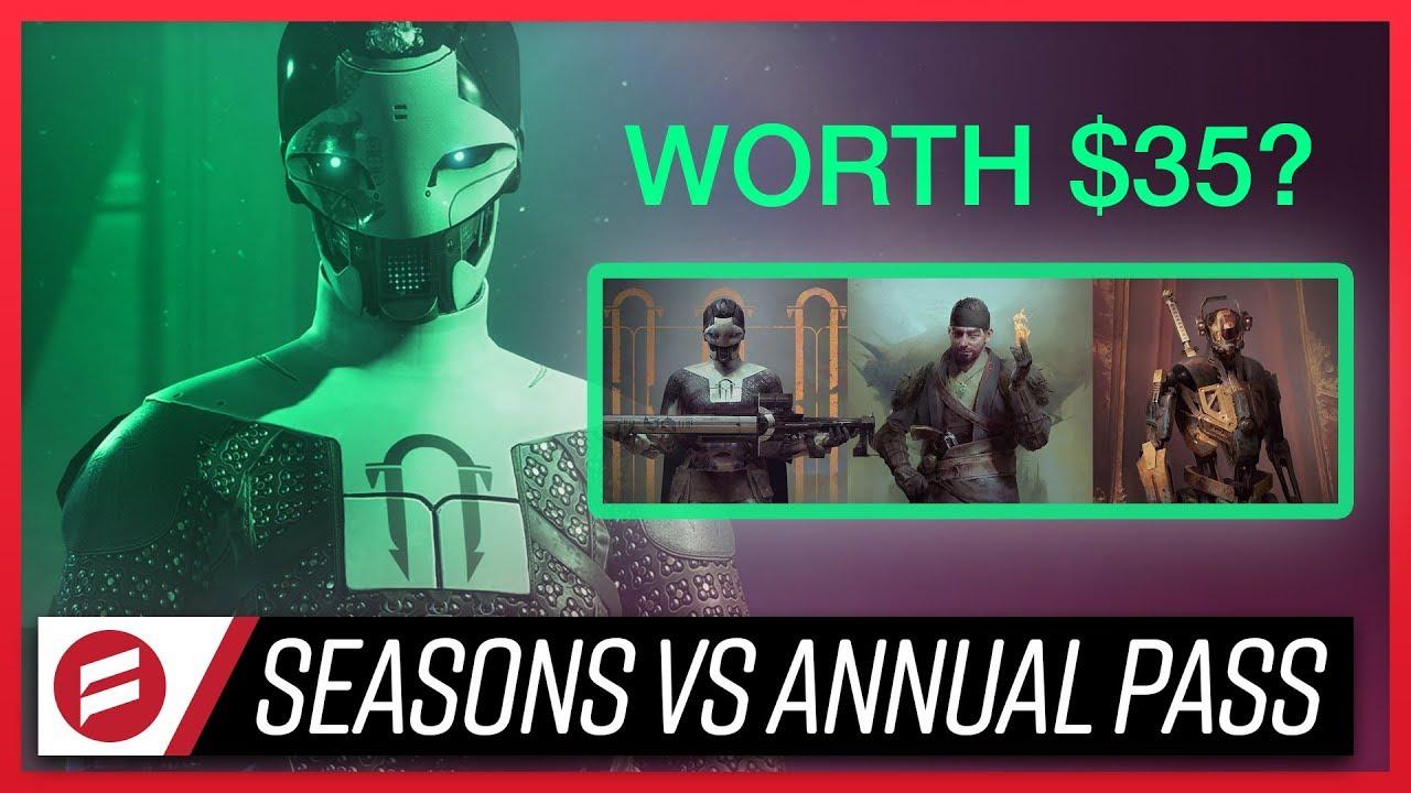 Here's how Destiny 2's Season Pass works