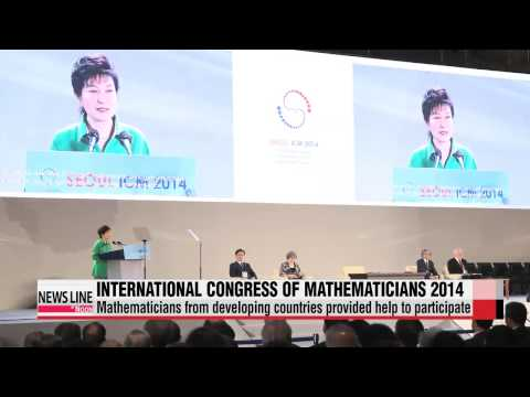 World's largest math conference opens in Seoul