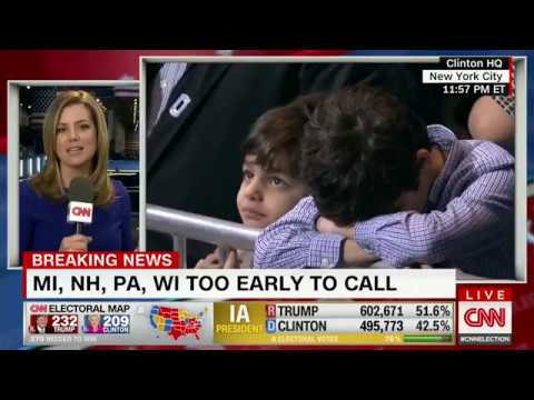 Liberals crying, leaving Clinton headquarters in tears (Democratic Party in Shambles)- KARMA LOL