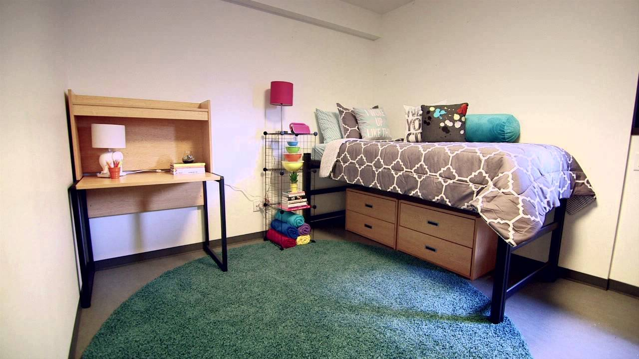A Bright And Beautiful Dorm Room YouTube