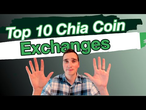 Chia Coin Exchanges XCH