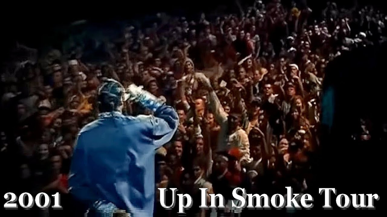 Up In Smoke Tour 2001 - HD - Dr Dre - Snoop Dogg - Eminem - Ice Cube - Xzibit