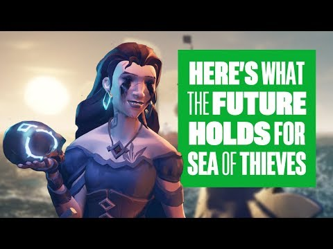 The future of Sea of Thieves - Cursed Sails and Forsaken Shores gameplay details!