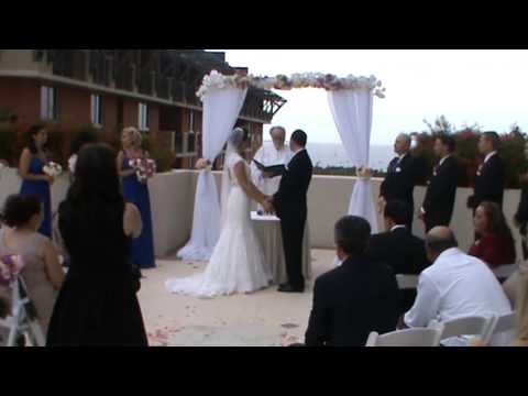 Our wedding ceremony - rose ceremony