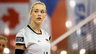 Top 10 Powerful Volleyball Spikes by Louisa Lippman | EUROVOLLEY 2017 Women