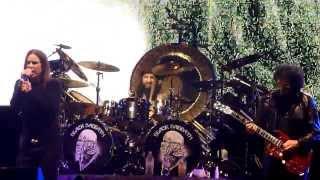 Black Sabbath Porto Alegre 2013 - Behind The Wall of Sleep + Bass Solo + N.I.B.