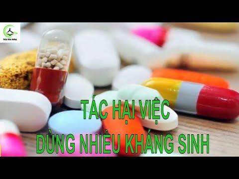 Tác hại việc dùng quá nhiều thuốc kháng sinh điều trị viêm họng