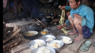 How to cook village organic meat in traditional way ll Village lifestyle