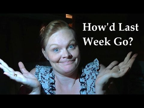 Monday Mutterings with Torrin Paige: Last Week