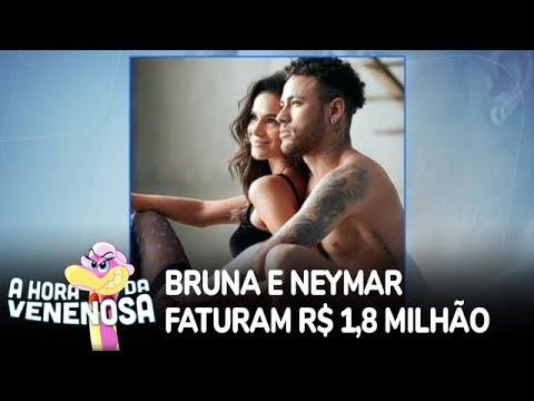 Bruna Marquezine e Neymar faturam R$1,8 milhão em campanha de lingerie