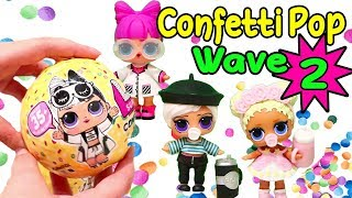 Wave 2 Confetti Pop ! Toys and Dolls Fun for Kids with Blind Bags, LOL Pets, and Pearl Surprise