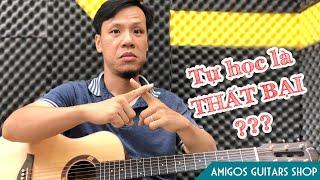 Lý do bạn tự học guitar trên youtube không thành công và cách khắc phục