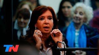 Cristina en el banquillo: así escuchó los cargos que se le imputan