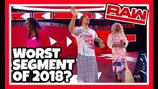 😲 Reaction   WORST WWE RAW SEGMENT OF 2018??? Sami Zayn & Bobby Lashleys Sisters   May 21, 2018