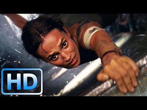 Самолет над водопадом / Tomb Raider: Лара Крофт (2018)