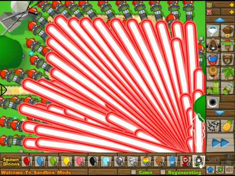 Bloons Tower Defense 5-Spike Factory VS. ZOMG | FunnyCat.TV