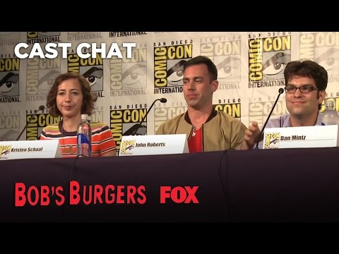 ComicCon Panel: Overhearing Tina  Season 3  BOB'S BURGERS
