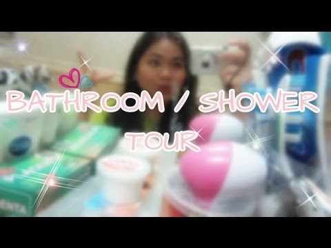 BATHROOM / SHOWER ROOM TOUR (Tagalog)