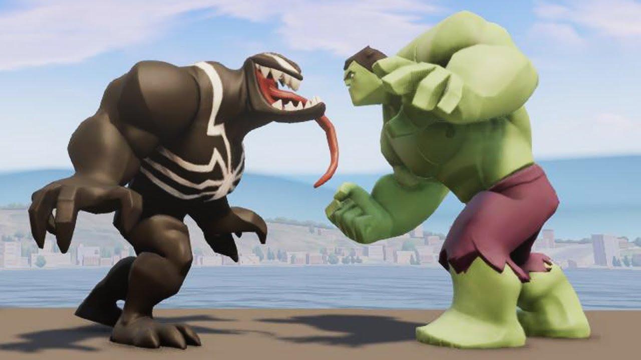 hulk vs venom epic battle disney infinity 20 youtube