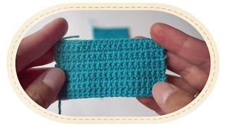 Первые петли и самый простой узор крючком. Столбик без накида. (Урок 2)