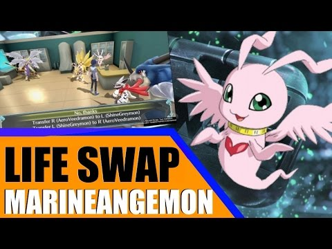 Digimon World: Next Order - MarineAngemon Guide! | Life Transferring Correctly | How to Recruit