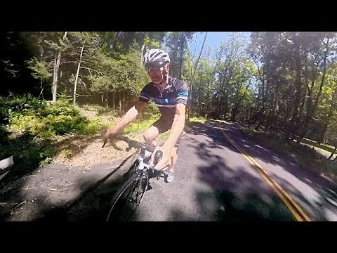 Climbing A Big Ugly Hill. That Is Why I Have A 40t Cog On My Cassette!