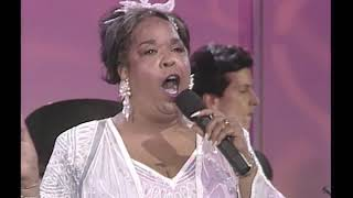 Della Reese performs on the 1991 Jerry Lewis MDA Labor Day Telethon