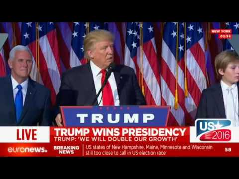 Full Speech: Donald Trump wins US presidency