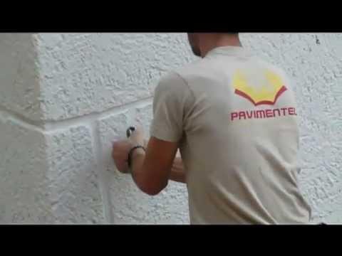 Impreso vertical c mo se hace pavimentel covelo vigo - Hormigon impreso vertical ...