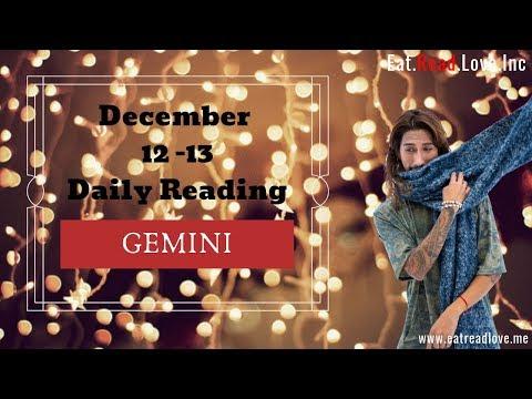 "GEMINI SOULMATE ""ARMS LENGTH"" DEC 12-13 DAILY TAROT READING"