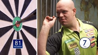BULLSEYE CHALLENGE! Van Gerwen and Anderson go Down the Local