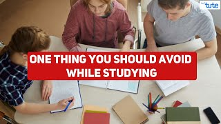 One thing you should avoid while studying   Tips by Letstute   #short #ytshorts