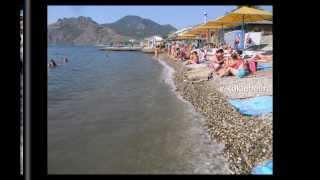 Черное море пляж (Black Sea beach)(Черное море пляж и девушки на берегу моря. В Крыму много пляжей, есть платные есть дикие. Красивые девушки..., 2013-12-05T15:13:46.000Z)
