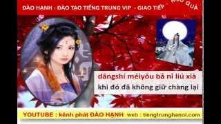 Tiếng Trung giao tiếp : bài  Chỉ có....: Wo de xin zhi you ni mei you ta