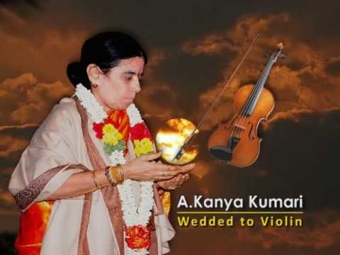 A.KANYAKUMARI WEDDED TO VIOLIN TRAILOR