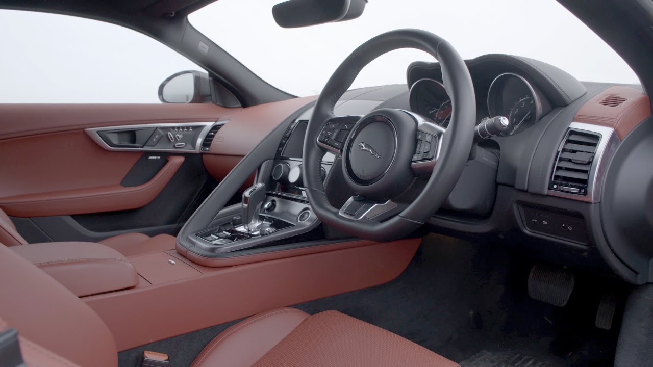 2018 Jaguar F Type 4 Cylinder   Interior