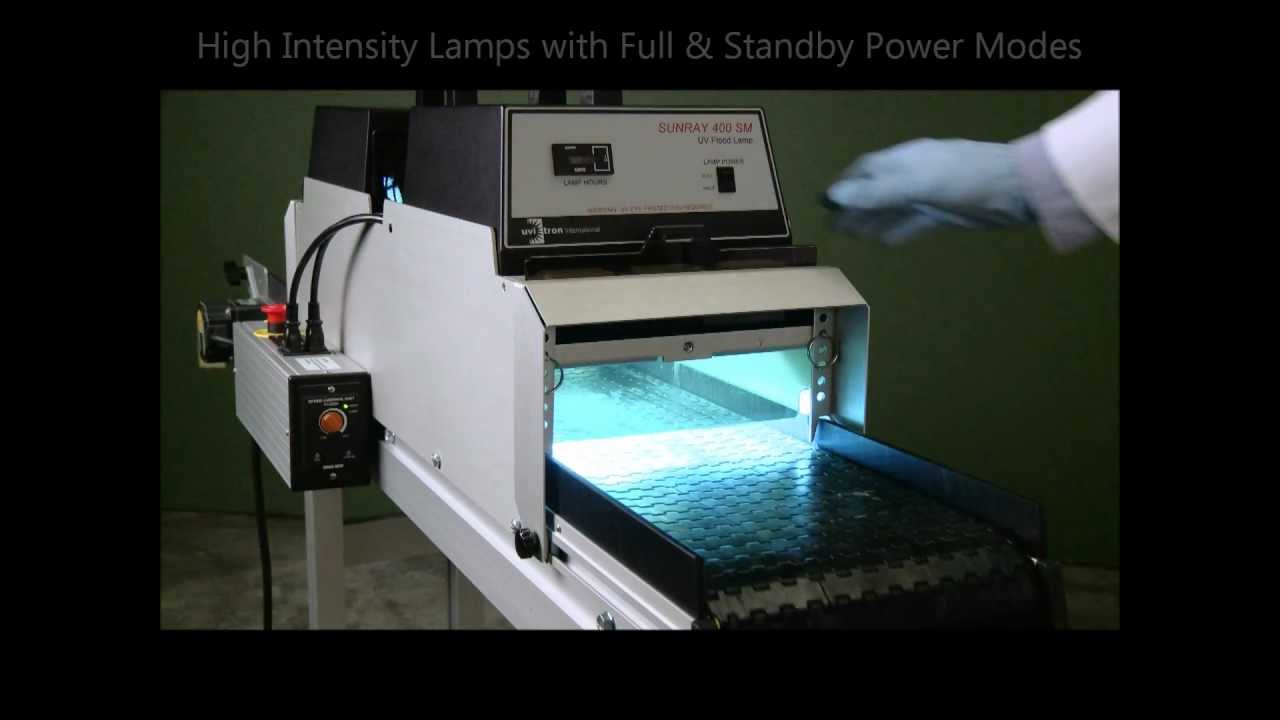 Uvitron International Uv Conveyor 40 Light Curing System