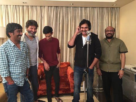 Pawan Kalyan sings Kodaka Koteswara Rao song in Agnyaathavaasi || Trivikram Srinivas || Anirudh