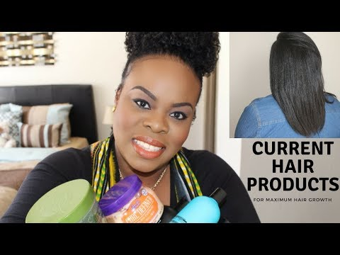 My Current Hair Products For Maximum Growth | SimplYounique